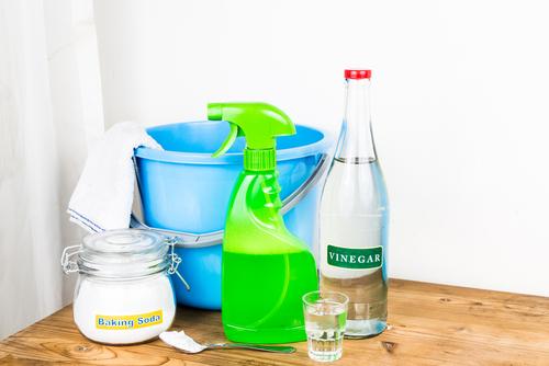 använd görna ekologiska rengöringsprodukter vid hemstädning